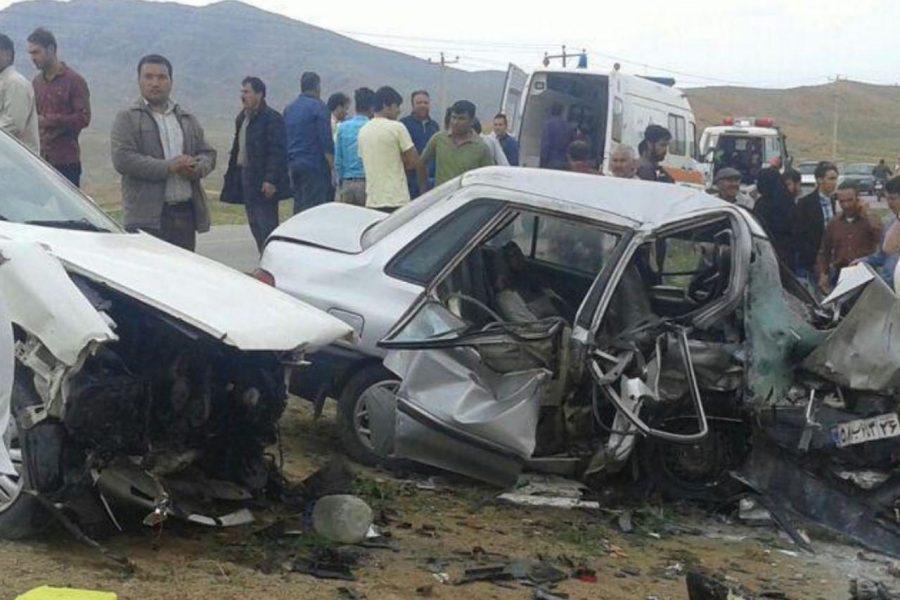 تصادف سمند و پراید با یک کشته و ۱۳ مجروح در اصفهان