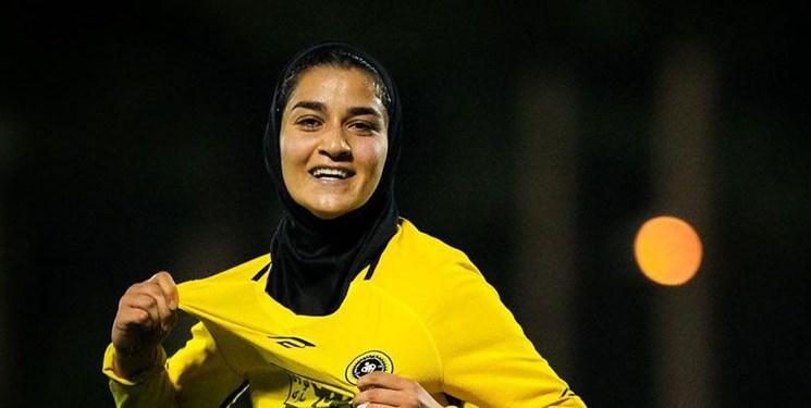 کاندیدای بهترین گل زن فوتبال بانوان قرارداد خود را سفید امضا کرد