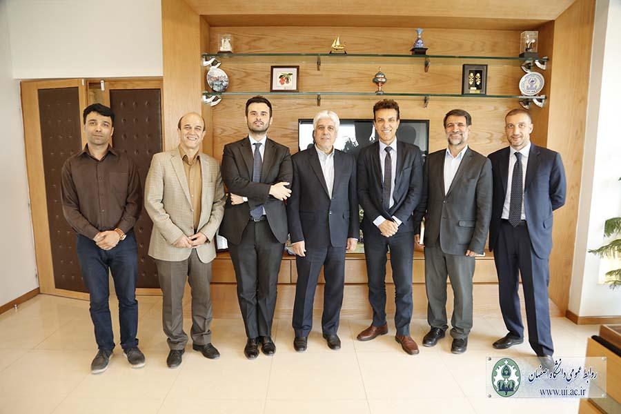 دیدار سفیر ایتالیا با رییس دانشگاه اصفهان