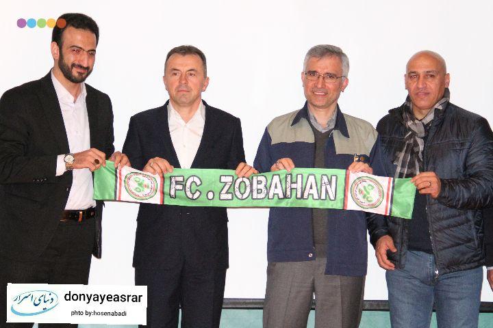 گزارش تصویری مراسم معارفه سرمربی جدید تیم فوتبال ذوب آهن اصفهان
