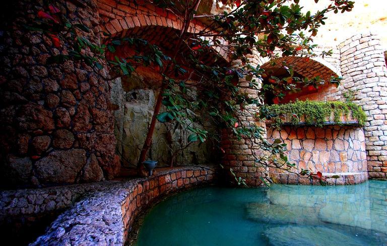 شهر زیبای زیرزمینی کیش کاریز+تصویر