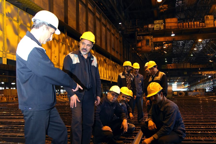 ریل معدن تیپ R18 در ذوب آهن اصفهان تولید شد