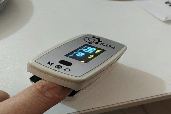 ساخت دستگاه «اکسیمتر انگشتی» در روزهای کرونایی