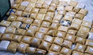 قاچاق مواد مخدر با کوله ناکام ماند