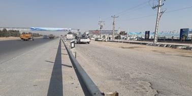 ایمن سازی و رفع پنج نقطه مصوب پرتصادف در سطح استان