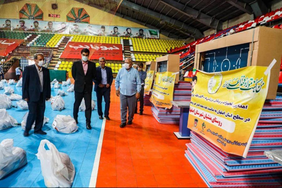 برای اولین بار در کشور ۳۰۰ خانه ورزش روستایی در سطح استان اصفهان مجدد تجهیز شد